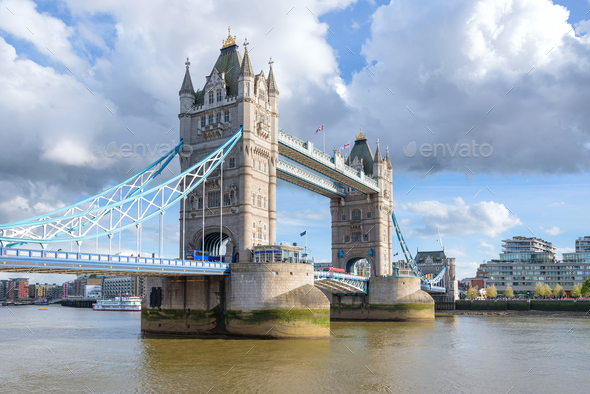 Tower Bridge in London - Stock Photo - Images