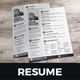 Resume & Cover Letter Design v4 - GraphicRiver Item for Sale