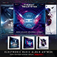 Electro Music CD/DVD Template Bundle Vol. 7