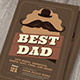 Retro Father's Day Flyer - GraphicRiver Item for Sale