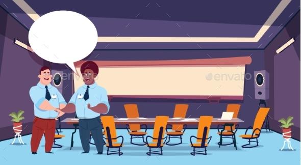 Conference Participants Group Chat Communication - Business Conceptual