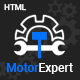 Free Download Motor Expert || Auto Mechanic & Car Repair HTML Template Nulled