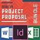+100 Pages Bundle Full Proposal Packages A4 / US Letter V 2.0 - GraphicRiver Item for Sale