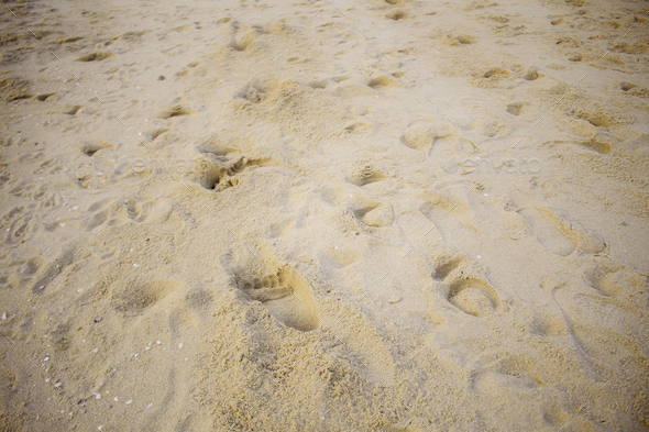 Sand with background - Stock Photo - Images