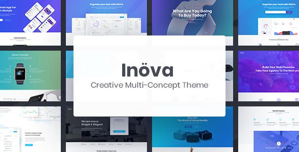 Image of Inova - Creative Multi-concept WordPress Theme