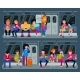 Subway Vector People in Metro and Passenger - GraphicRiver Item for Sale
