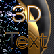 3D Text Styles N15