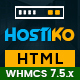Hostiko HTML WHMCS Hosting Theme - ThemeForest Item for Sale