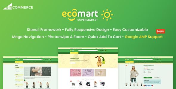 EcoMart - Responsive BigCommerce Theme - BigCommerce eCommerce