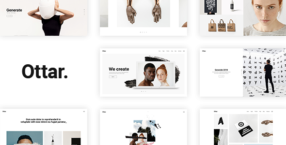 Image of Ottar - A Contemporary Portfolio Theme