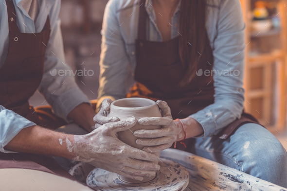 Human hands at work - Stock Photo - Images