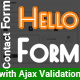 Free Download Hello Form - PHP Working Ajax Contact Form with Validation Nulled