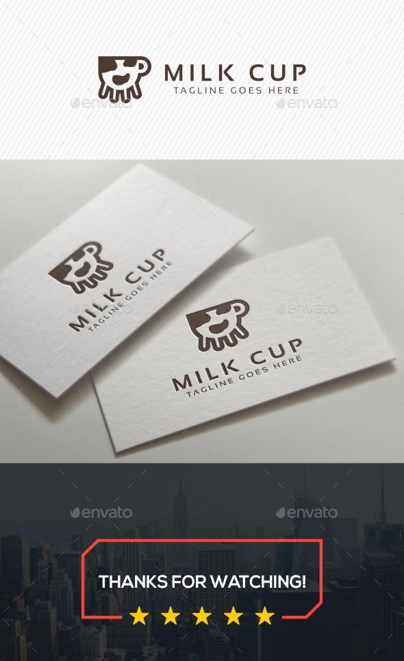 Milk Cup Logo - Symbols Logo Templates