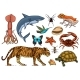 Set of Animals - GraphicRiver Item for Sale