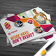Fitness / Gym Post Card Design - GraphicRiver Item for Sale