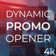 Dynamic Promo Opener - VideoHive Item for Sale