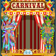 Carnival Gold and Red Poster - GraphicRiver Item for Sale