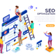Conceptual Web Seo Illustration - GraphicRiver Item for Sale