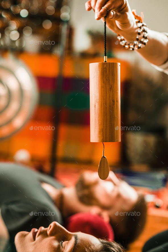 Koshi chime in sound therapy - Stock Photo - Images