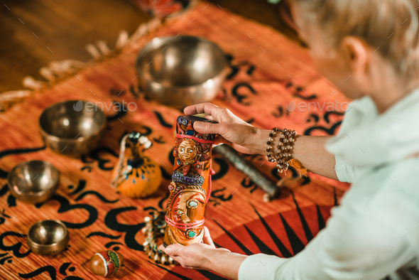 Sound healing - Stock Photo - Images