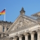 German Politics: Pan Shot of The Reichstag Building in Berlin, Germany - VideoHive Item for Sale