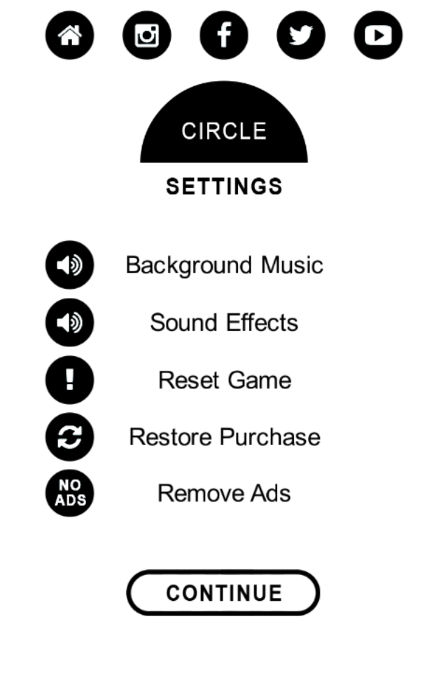 Circle Games Template for IOS With Admob Interstitial IAP Remove Ads  Purchase