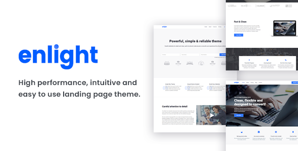 Enlight – Multipurpose Landing Page Theme