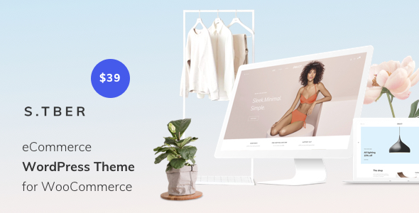 Stber – eCommerce WordPress theme for WooCommerce