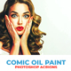 Comic Oil Paint Photoshop Actions - GraphicRiver Item for Sale