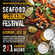 Seafood Flyer Template - GraphicRiver Item for Sale