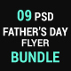 Father's Day Flyer Bundle - GraphicRiver Item for Sale