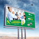 Corporate Conference Billboard - GraphicRiver Item for Sale