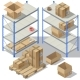 Vector Isometric Storage of Post Service