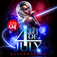 4th of July Celebration Flyer Template 2 - GraphicRiver Item for Sale