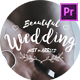Wedding Titles for Adobe Premiere Pro - VideoHive Item for Sale
