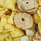 Potato Chips on Plate. Food Background - VideoHive Item for Sale