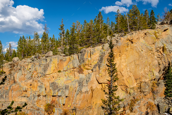 Rocks in Rocky Mountain National Park - Stock Photo - Images