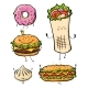 Free Download Cartoon Fast Food Nulled