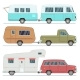 Travel Mobile Houses Family Camping