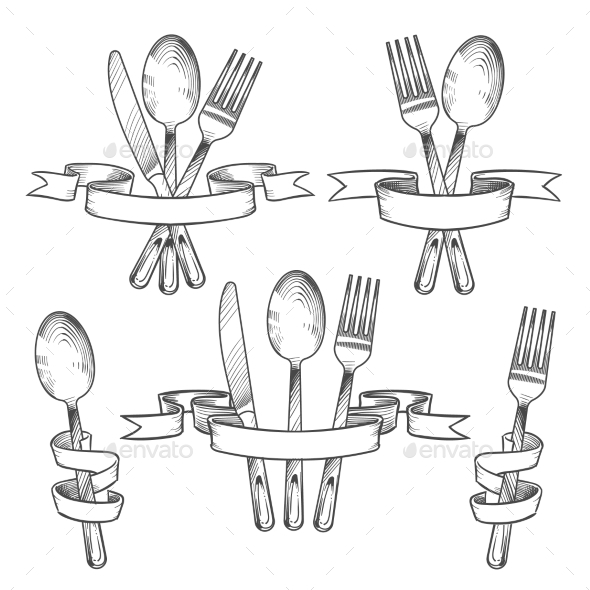 Silverware - Decorative Symbols Decorative