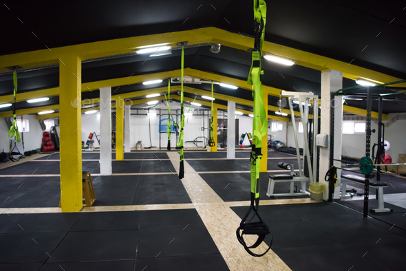 Cross fitness gym - Stock Photo - Images