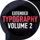 Free Download Extended Typography Mogrt Vol.2 Nulled