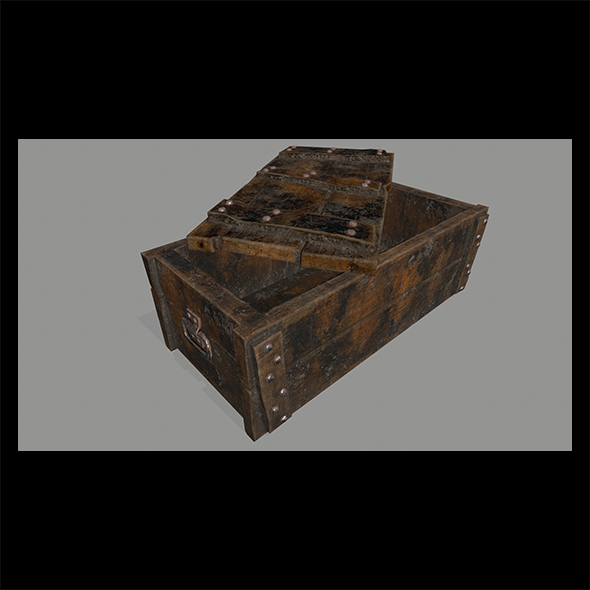 old_chest. - 3DOcean Item for Sale