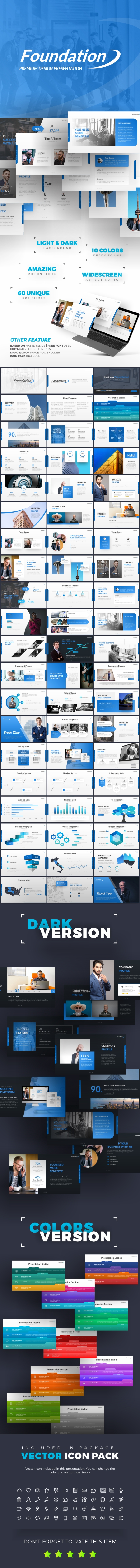 Foundation Premium Presentation Template - PowerPoint Templates Presentation Templates