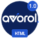 Avorol - One Page Parallax - ThemeForest Item for Sale