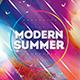 Modern Summer Photoshop Flyer Template - GraphicRiver Item for Sale
