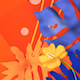 Stylish Orange and Blue Plants - VideoHive Item for Sale