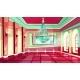 Vector Cartoon Castle Palace Ballroom Background