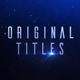 Original Titles V2 - VideoHive Item for Sale