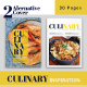 Culinary Inspiration Indesign Template